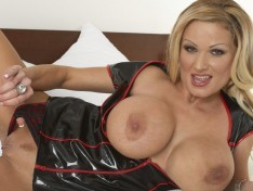Sharon Pink Showing Off Those Big Tits!