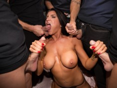 Romi Rain Gets Dirty With Some Beefy Cocks!