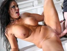 Brunette Cougar, Angela Aspen, Gets a Big Dose of Dick!