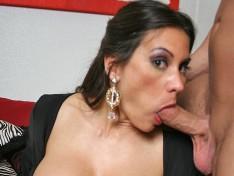 Sheila Marie Deep Throats A Big Prick!