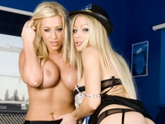 Cindy Behr and Chelsea Sax in a Hot Threesome!