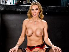 Tanya Tate Takes a Drilling!