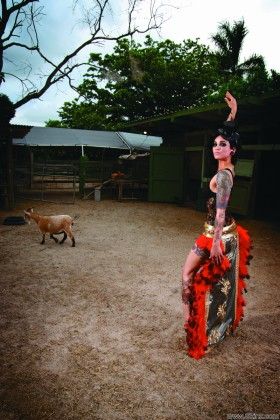 Liz ybarra  liz ybarra loves her horse it makes her feel just Liz Ybarra loves her horse. It makes her feel just as powerful as getting all of her tattoos inked onto her hot body! For more files of Liz Ybarra with lovely face on Skinz.com now!.